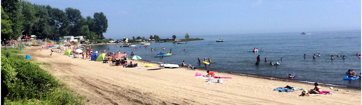 Knight S Beach Resort Lake Erie Rv Campground Ontario