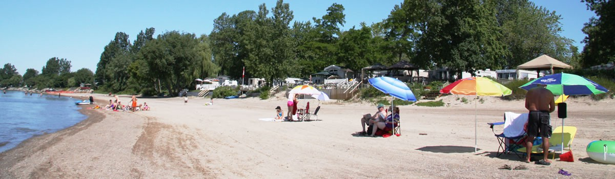 Knight S Beach Resort Lake Erie Rv Campground Ontario